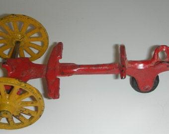 Cast Iron Toy Trailer