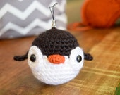 Kawaii Penguin keychain Backpack Charm Amigurumi
