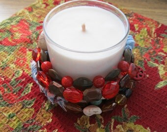 Soy Candle ~ Buddha Peace Prayer Candle ~ Calming Massage Candle ~ Say a Prayer For Peace ~ Lotion Candle From Distracting Me