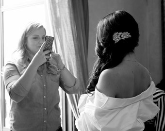 Monogrammed Wedding Day Shirt, Monogram Bride Shirt, Personalized Bridal Shower Gift, Customized Wedding Day Shirt, Personalized Bride Shirt