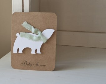 Polar Bear Invitations Baby Shower Winter Themed Chrismas Mint Green Scarf First Birthday Party Neutral