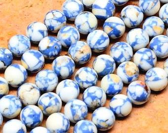 50 HOWLITE Beads 8mm - COD5675