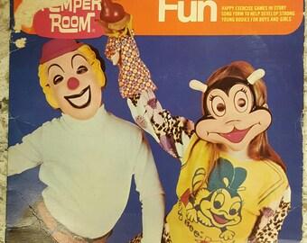 "45 RPM PETER PAN 7"" Childrens Record Romper Room"