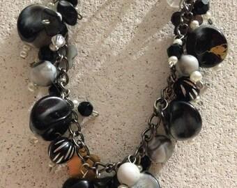 Black Jingle Bracelet