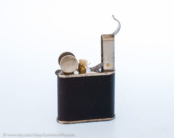 Working 1940s French SGFVB Petite Lift Arm Pocket Lighter - New Old Stock