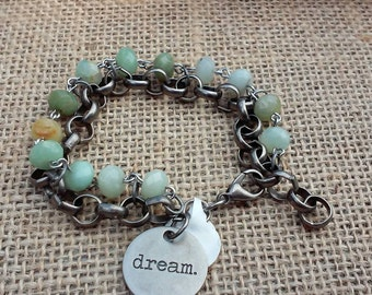 Rolo Charmed Bracelet, Charm Bracelet, Dream Bracelet