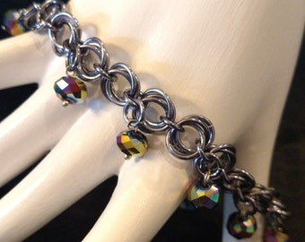 Pewter Chainmail Bracelet