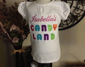 Custom Candyland shirt