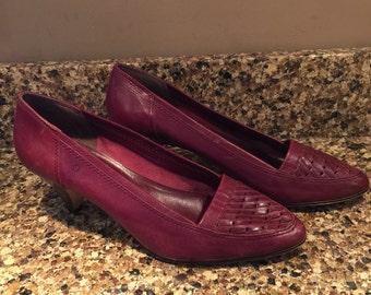 Vintage Pump Shoes, size 7.5