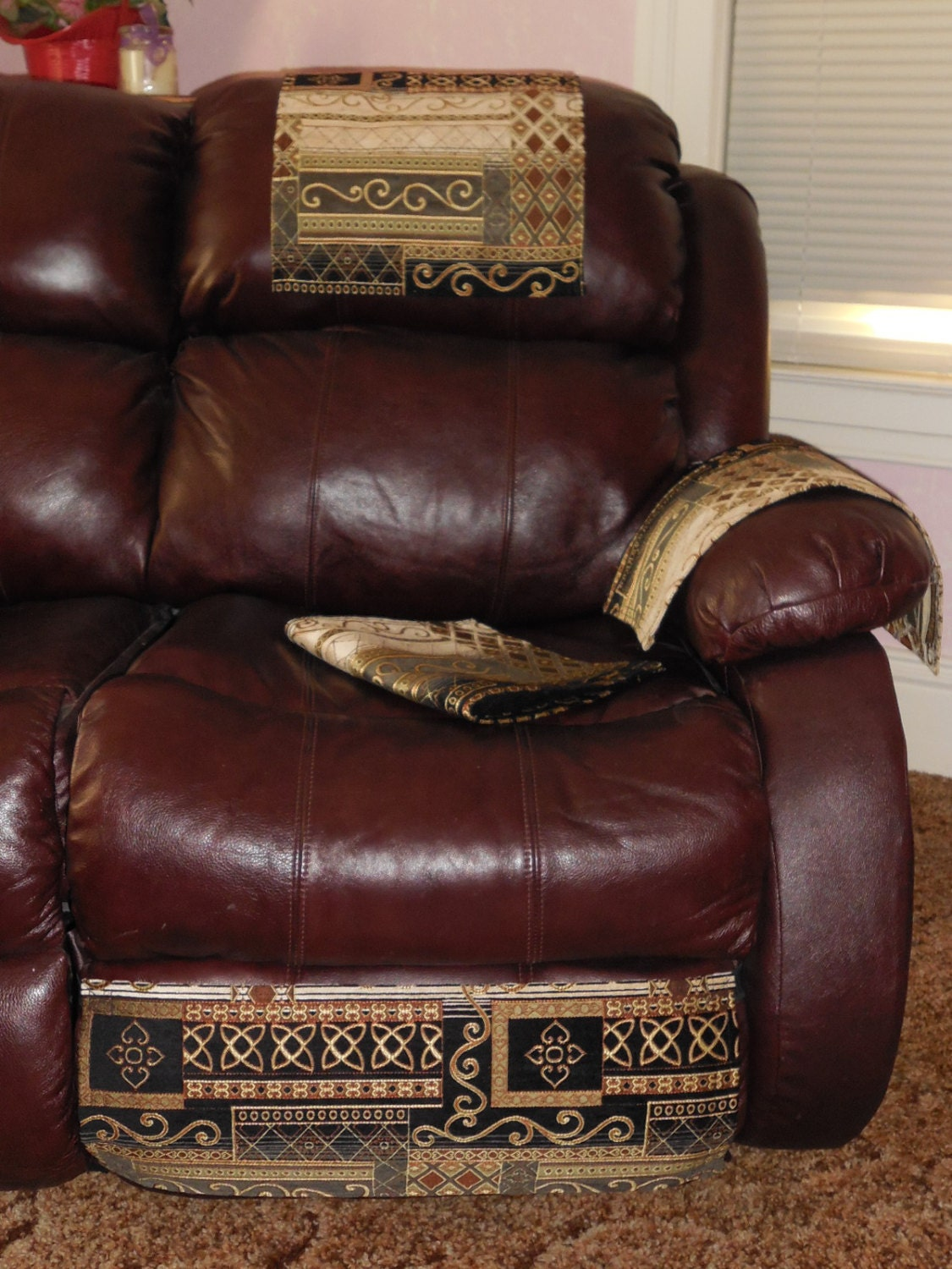 Chair Cover 4 Piece Set Sofa Protector Furniture Pad