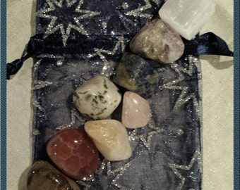 Intuitively Chosen Chakra Crystal Set