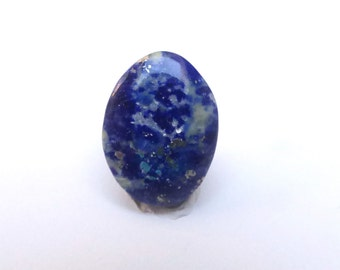 Lapis Lazuli with Pyrite Oval Cabochon, 19mm x 14mm, LLC010