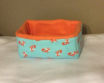 Rectangle Fox Small Animal Bed