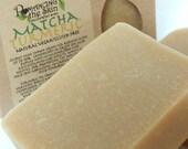 Matcha Turmeric Handcrafted Natural Vegan Gluten Free Lye Soap