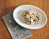 Vintage Letter Cubes Home Decor Craft Supply