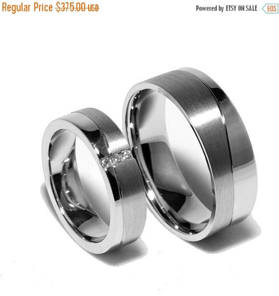 ON SALE Wedding Ring Sets Made Out by FirstClassJewelry on Etsy