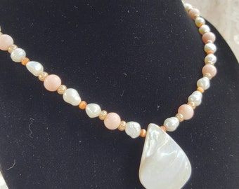 Pearls, Pastels and A Pretty Shell