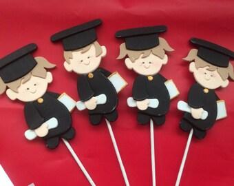 Graduation Stick People