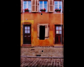 Single Switchplate Cover - Colorful Home in Colmar