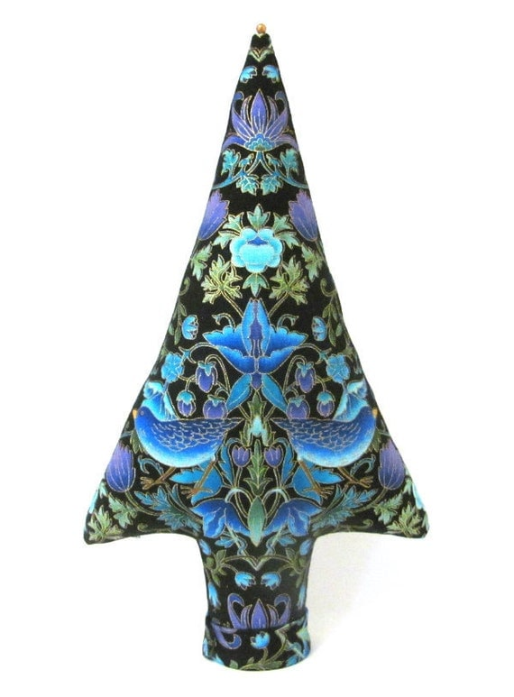 Tree of Life Fabric Centerpiece Place Card Holder Tall Style TREE-Stand Ready to Ship