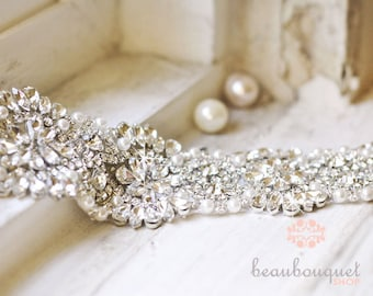 Bridal Sash Wedding Sash Bridal Belt Wedding Belt Rhinestone Sash Crystal Sash Bridal Accessories Wedding Accessories