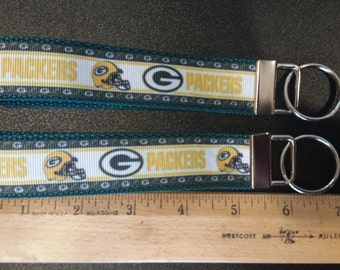 Green Bay Packers Key Fob, Wristlet, Key Chain