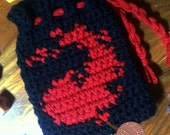 Magic the Gathering Dice Bag Pattern - Pattern Only