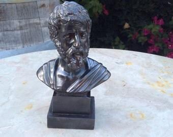 Greek tragedian bust