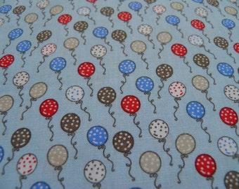 Ballons – fond bleu – 50 cm