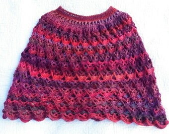 Hand-Crocheted Poncho