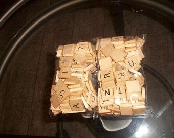 Vintage Scrabble Tiles