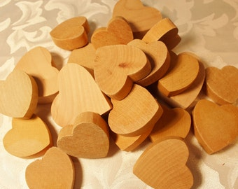 Wood Hearts For Crafting - Unfinished Wood Heart Cutouts