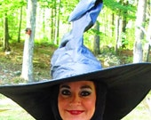 Witch Hat Wicked Witch of The West Face Hood