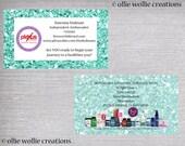 Plexus Business Card - Double Sided