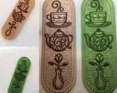 1 Tea Time Lace Bookmark