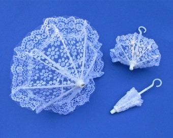 Lace Parasol, Choice of size