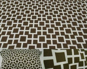 "Robert Allen Baja Lattice- Driftwood- Polyester Fabric-Outdoor Fabric-26""x26""- Indoor -Outdoor FAbric"