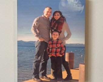 Natural Wood Photo Panel *2 sizes available!*