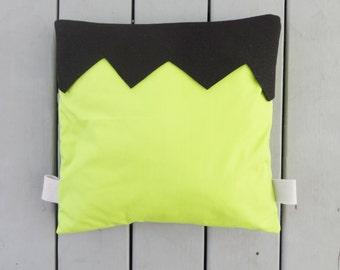 Frankenstein pillow cover, Frankenstein cushion, Halloween cushion, Halloween decor, fun Halloween decor, monster decor cute Halloween decor
