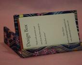 Business card holder - horizontal