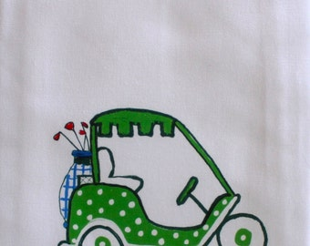 Golf Tea Towel Kitchen Towel