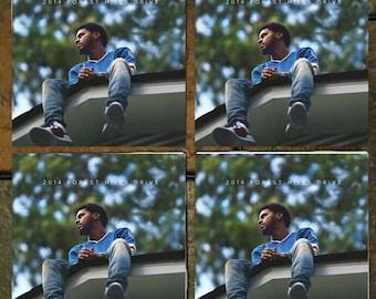 J. Cole / 2014 Forest Hills Drive Coaster set
