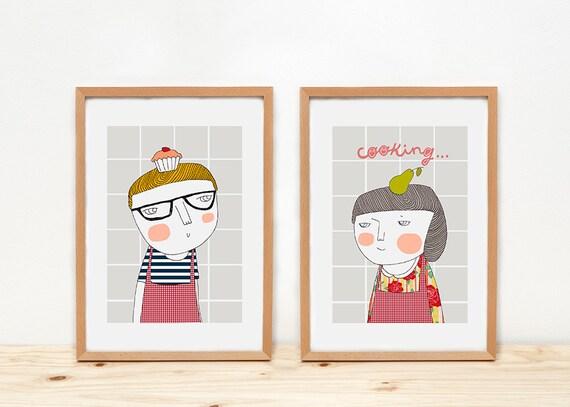 Cooking - Prints - 8 x 11.5 - A4