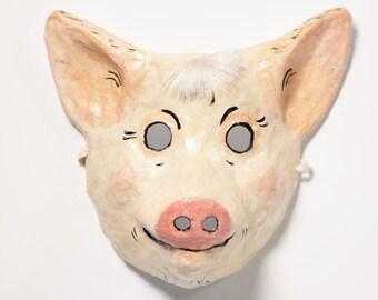 pig mask paper