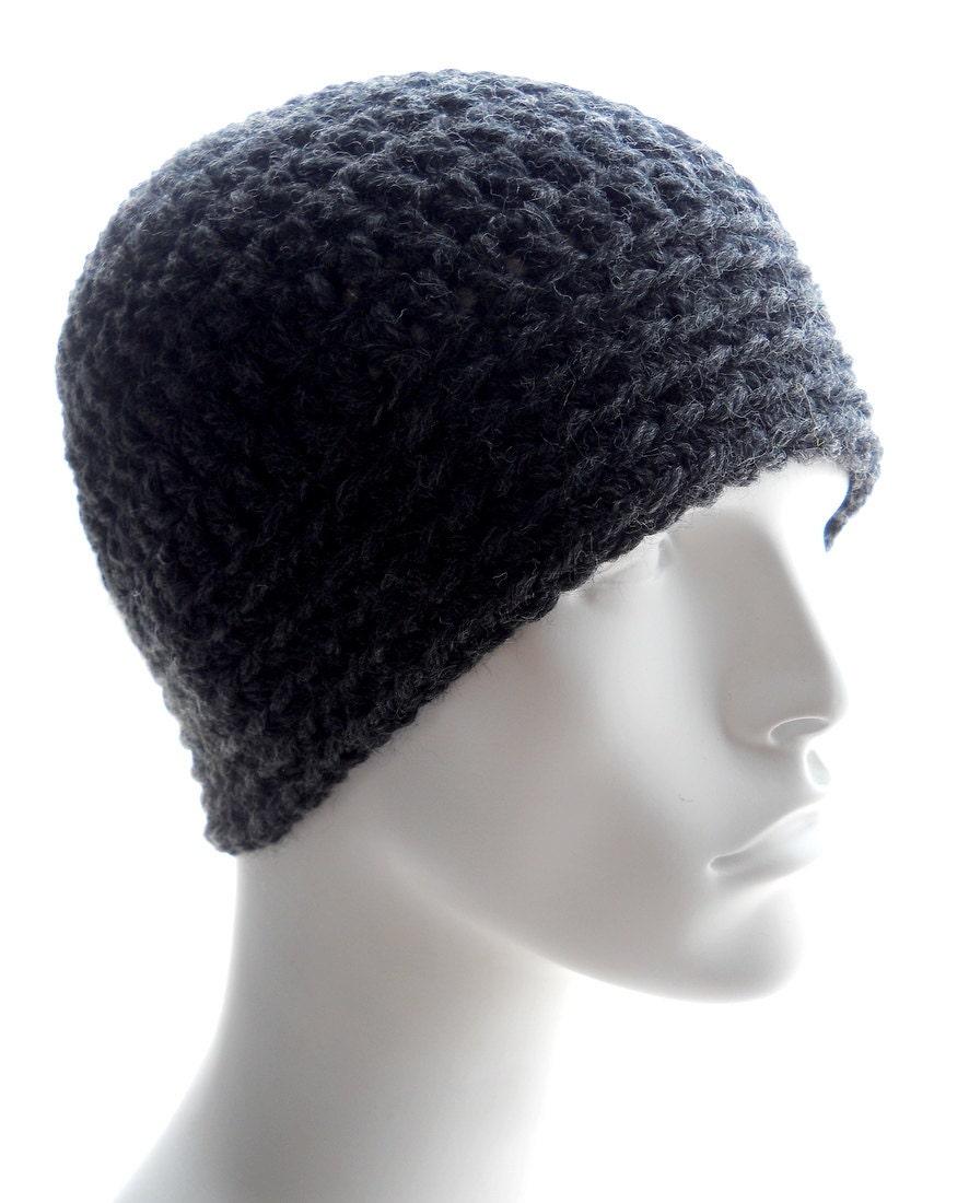 Mens Hat Crochet Pattern Chunky Yarn : CROCHET PATTERN: The Chunky Guy Beanie for Men, Crochet ...
