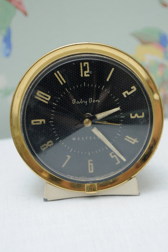 Westclox Baby Ben Wind Up Vintage Alarm Clock