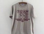 Vintage 80's Running T-Shirt / Stockade-athon 1987 M