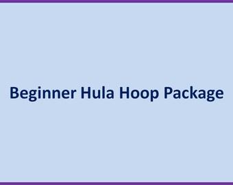Beginner Hula Hoop Package