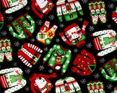 RESERVED LISTING for Marla - Additional Yard (5 Yards Total) Ugly Christmas Sweaters from Timeless Treasures