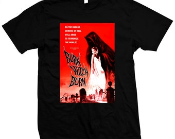 Burn, Witch, Burn! - Night of the Eagle - Pre-shrunk, Hand screened 100% cotton T-Shirt